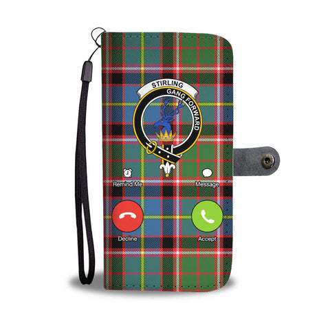 Tartan Wallet Case - Stirling (Of Cadder-Present Chief)  Is Calling A9