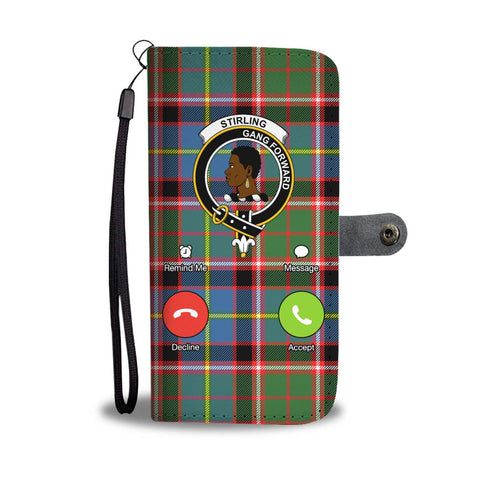 Tartan Wallet Case - Stirling (Of Keir) Of Bute Is Calling A9