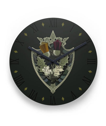 "Scottish Luckenbooth Brooch 11"" Wall Clock 