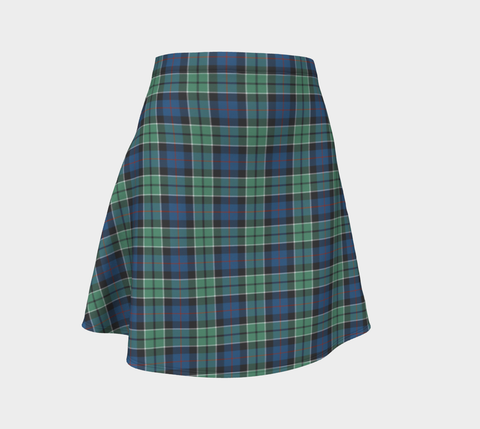 Image of Tartan Flared Skirt - Leslie Hunting Ancient |Over 500 Tartans | Special Custom Design | Love Scotland