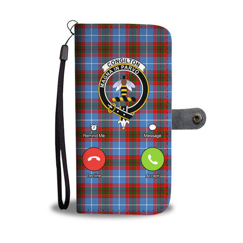 Tartan Wallet Case - Congilton Is Calling A9