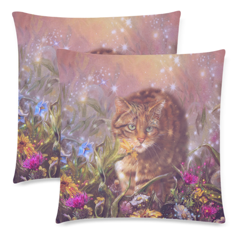 Scottish Wild Cat Pillow Cushions Cover | Hot Sale
