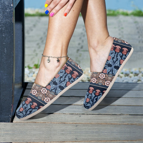 Scotland Thistle Pattern 07 - Women's Casual Shoes | HOT SALE