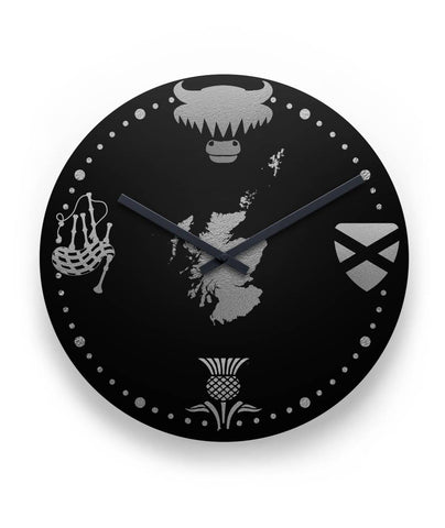 "Scotland Things 11"" Wall Clock 