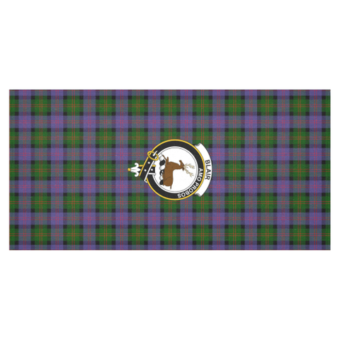 Blair Crest Tartan Tablecloth | Home Decor
