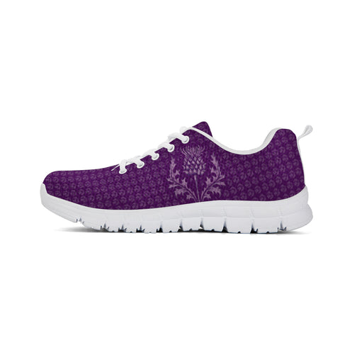 Scottish Thistle Purple Edition - Scotland Sneakers