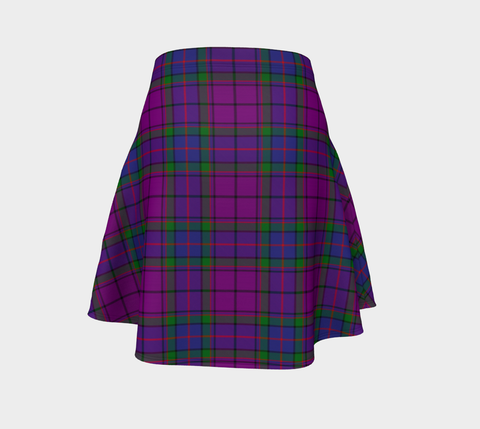 Tartan Flared Skirt - Wardlaw Modern |Over 500 Tartans | Special Custom Design | Love Scotland