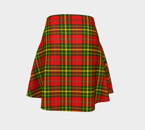 Tartan Flared Skirt - Leask |Over 500 Tartans | Special Custom Design | Love Scotland