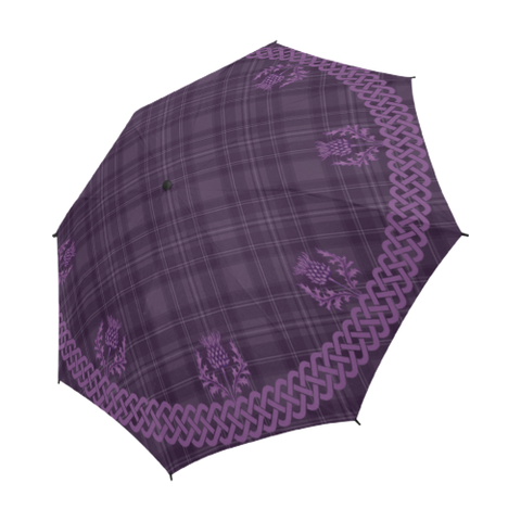 Image of Purple Thistles Umbrella