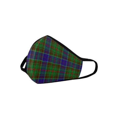 Adam Tartan Mouth Mask With Filter | 1stScotland