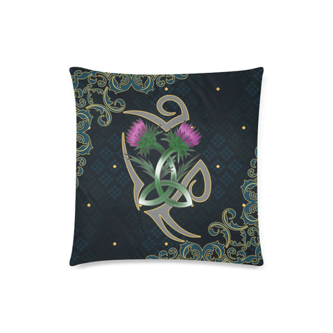Image of Scotland Pillow Case - Scottish Tribal Thistle Celtic A24