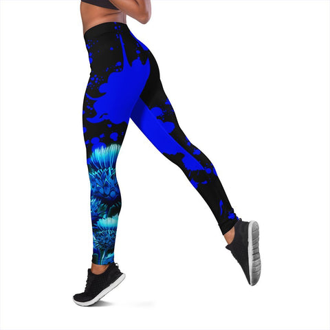 Image of Tartan Leggings, MacBain Luxury Thistle Scottish Leggings A30