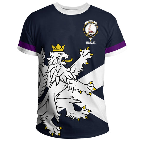 Image of Ainslie T-Shirt Scottish Lion | Over 300 Clans
