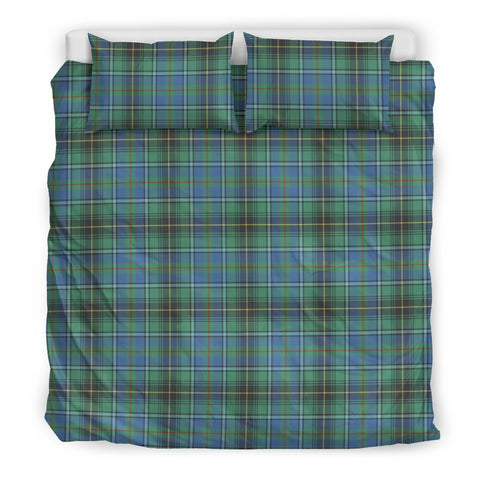 MacInnes Ancient tartan bedding, MacInnes Ancient tartan duvet covers, MacInnes Ancient plaid king bed, bedding sets queen, twin bedding sets