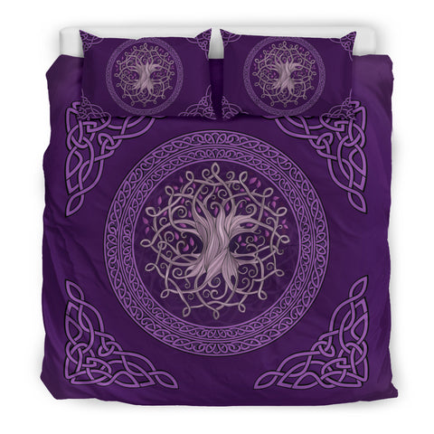 Celtic Tree Bedding Set - Scotland Duvet Cover