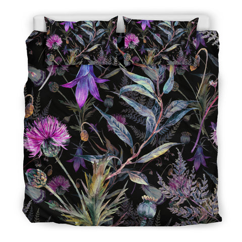Thistle Pattern - Bedding Set | Hot Sale | Hot Product