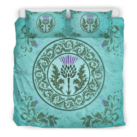 Image of Green Thistle - Bedding Set | Special Custom Design