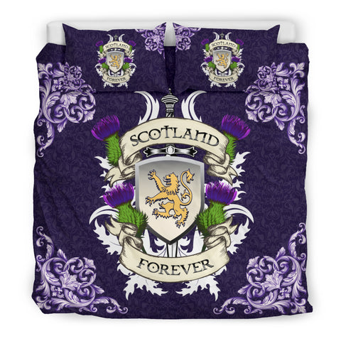 Scotland Forever Royal Purple Bedding Set | Love Scotland