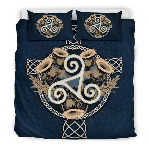 Cross and Thistle Celtic - Scotland Bedding Set | Bedroom Decor | Love Scotland