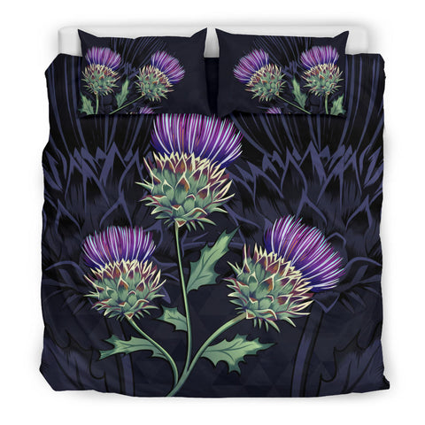 Luxury Purple Thistle - Scotland Bedding Set | Bedroom Decor | Love Scotland
