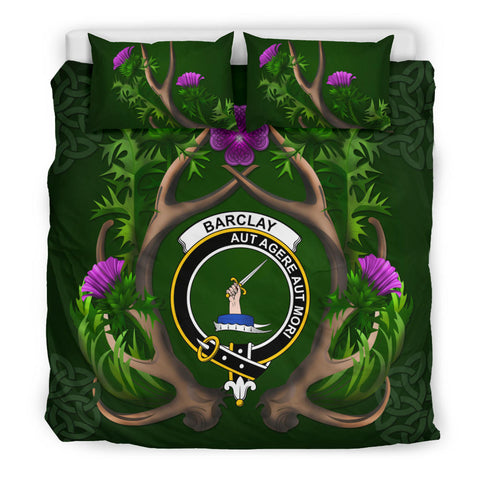 Barclay Crest Scottish Thistle Celtic Scotland Bedding Set | Love The World