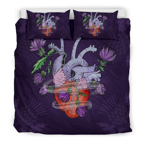 Scotland Bedding Set - Scottish Heart Thistle A24