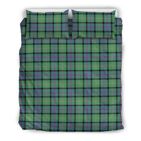 Image of MacThomas Ancient tartan bedding, MacThomas Ancient tartan duvet covers, MacThomas Ancient plaid king bed, bedding sets queen, twin bedding sets