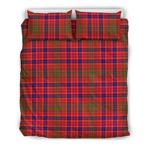 Image of Lumsden Modern tartan bedding, Lumsden Modern tartan duvet covers, Lumsden Modern plaid king bed, bedding sets queen, twin bedding sets