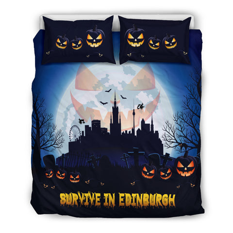 Scotland Bedding Sets - Survive In Edinburgh | Special Custom Design