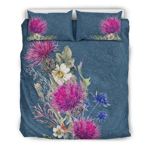 Image of Thistle Flower - Bedding Set | Special Custom Design