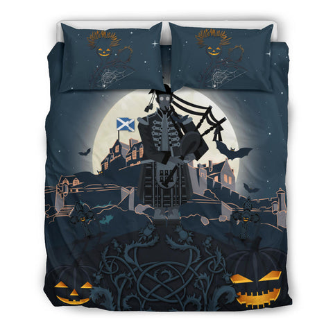 Image of Scottish Piper Halloween Bedding Set | Special Custom Design