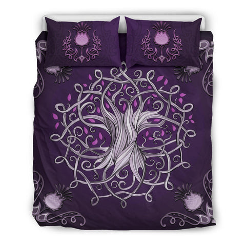 Scotland Bedding Set - Celtic Tree Thistle | Special Custom Design