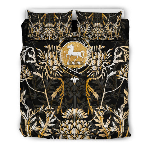 Image of Cochrane Bedding Set - Gold Scottish Thistle | Over 300 Clans | Home Set