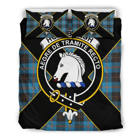 Image of Horsburgh Tartan Duvet Cover Set - Luxury Style Queen Size