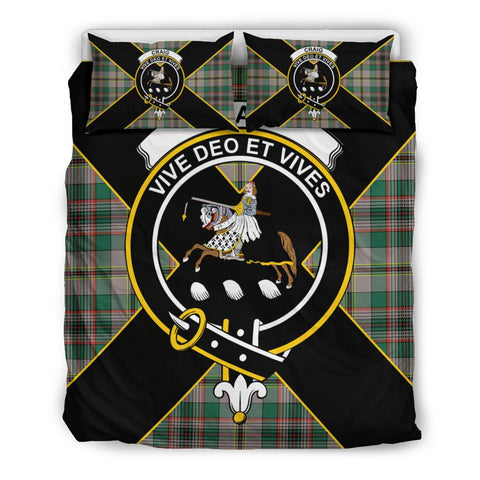 Craig Tartan Duvet Cover Set - Luxury Style Queen Size