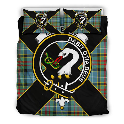 Brisbane Tartan Duvet Cover Set - Luxury Style Queen Size