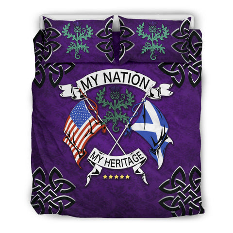 Scotland Bedding Set - My Nation My Heritage Thistle | Love Scotland