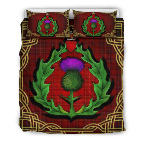 Scotland Bedding Set - Thistle Stewart Royal Modern Claddagh ring | Love Scotland
