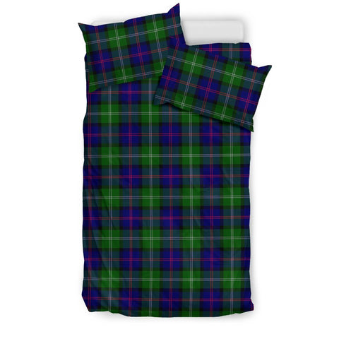 Image of MacThomas Modern tartan bedding, MacThomas Modern tartan duvet covers, MacThomas Modern plaid king bed, bedding sets queen, twin bedding sets