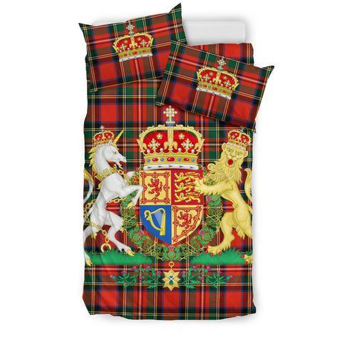 Scottish Royal Stewart - Scotland Bedding Set | Hot sale