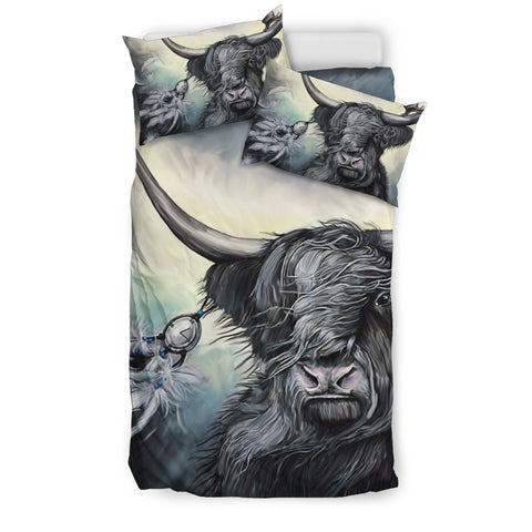 Image of Highland Cow - Scotland Bedding Set | Hot Sale