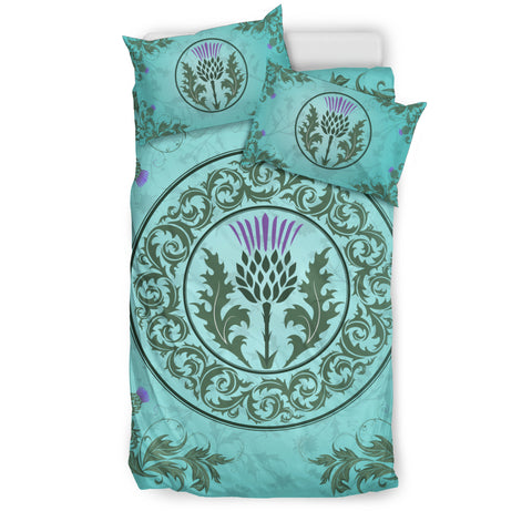 Green Thistle - Bedding Set | Special Custom Design