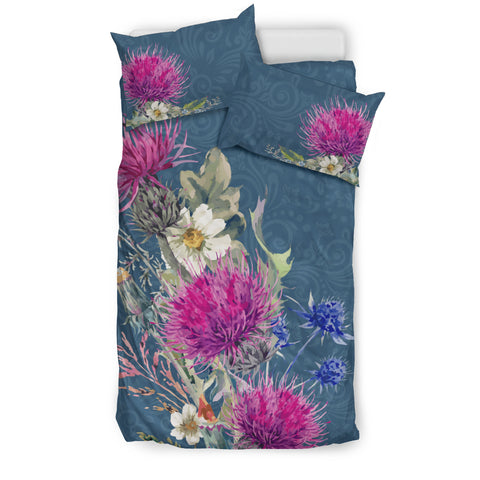 Thistle Flower - Bedding Set | Special Custom Design