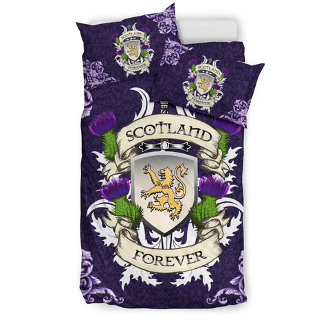 Image of Scotland Forever Royal Purple Bedding Set | Love Scotland