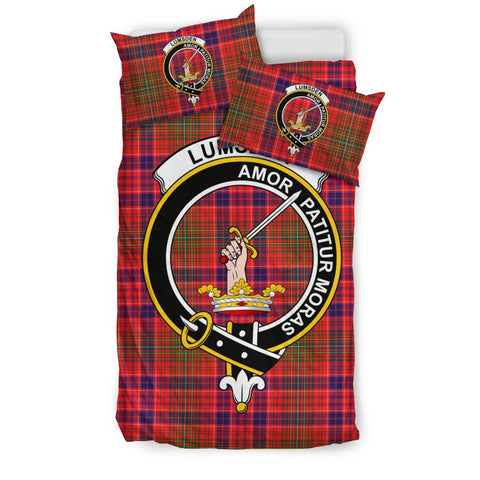 Image of Lumsden Tartan Bedding Set - Clan Badge