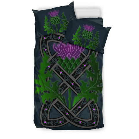 Image of Celtic Myth Thistle Bedding Set | Bedroom Decor | Love Scotland