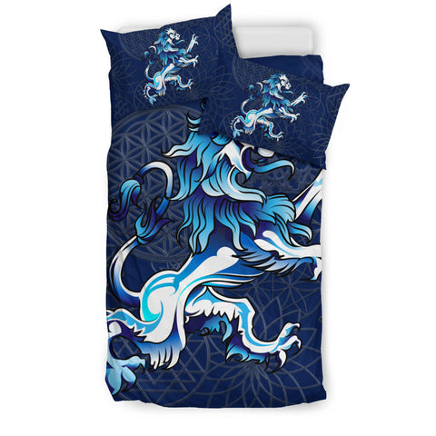 Image of Rampant Lion - Scotland Bedding Set | Bedroom Decor | Love Scotland