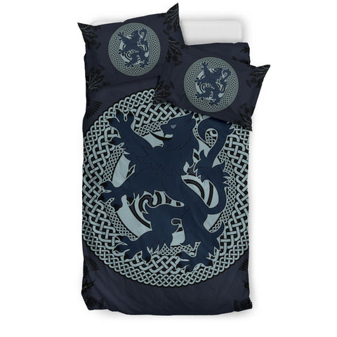 Blue Lion and Celtic - Scotland Bedding Set | Bedroom Decor | Love Scotland