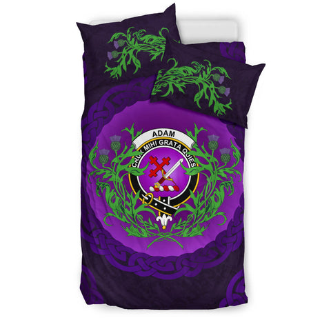 Adam Crest Scottish Thistle Celtic Scotland Bedding Set | Love Scotland