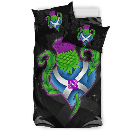 Scotland Bedding Set - Scottish Thistle and Flag